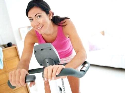 Як накачати ноги на велотренажері
