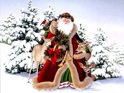 Як називають Діда Мороза в інших країнах