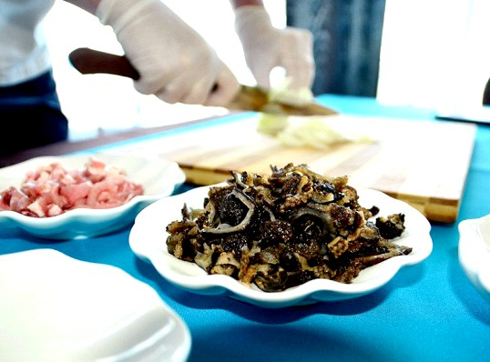 Як приготувати скоблянку з кукумарії?