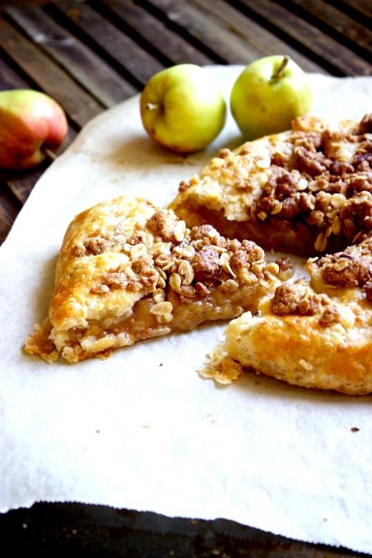 Як зробити сільський яблучний пиріг