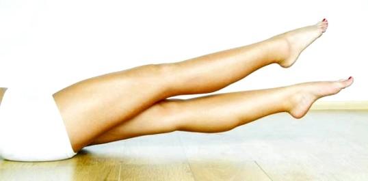 Як зменшити об'єм ніг