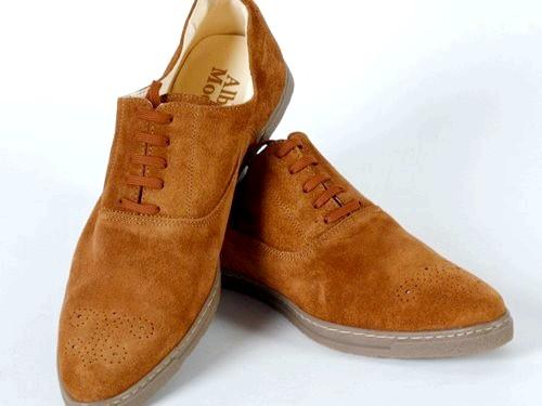 Як очистити замшеве взуття від бруду