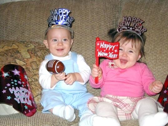 Як зустріти Новий рік з маленькою дитиною