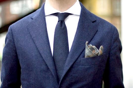Як вибрати нагрудний хустку до чоловічого костюму