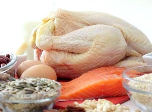 Зміст цінних білків в різних продуктах