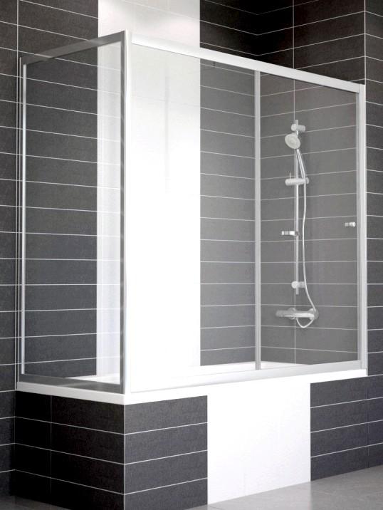 Вибір скляній розсувний штори у ванну