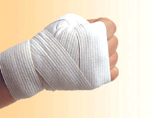 Як намотувати бинти для боксу