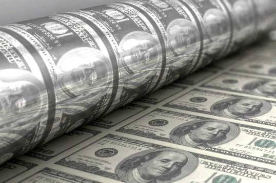 Як друкують долари