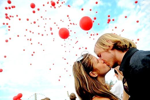 Як поцілунки впливають на наше самопочуття