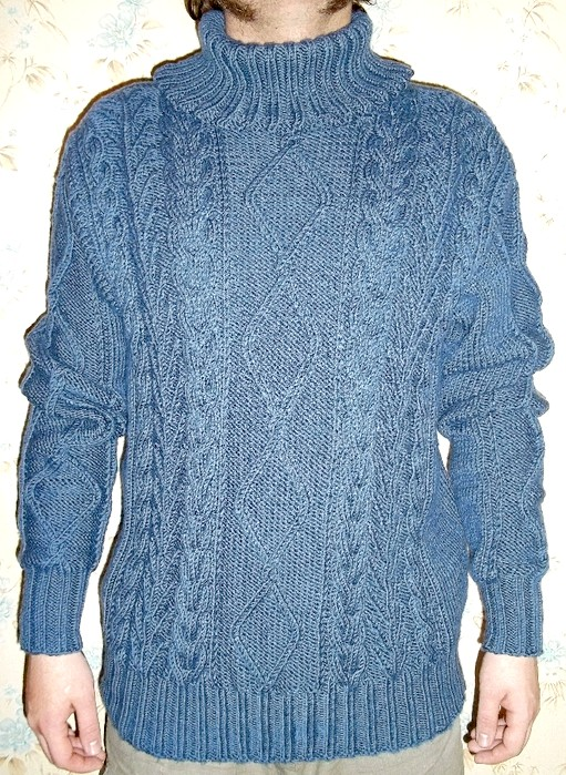 Як розтягнути сів светр