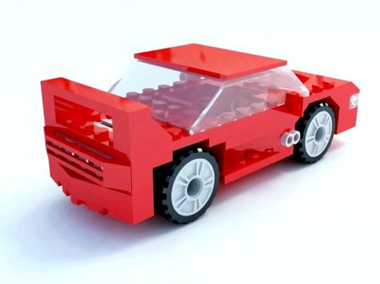 Як зробити машину з лего