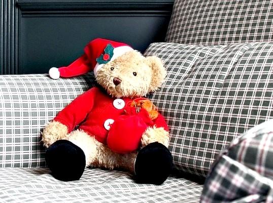 Як вкласти спати свого плюшевого ведмедика