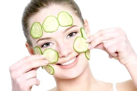 Огіркова маска для жирної шкіри