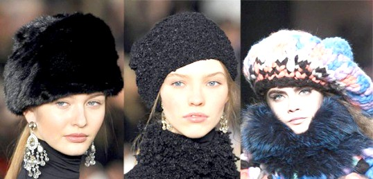 Які головні убори в моді в сезоні осінь-зима 2014
