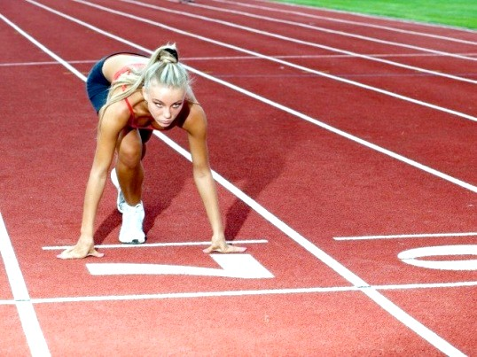 Які м'язи працюють при бігу