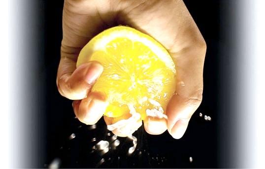 Лимон для рук і нігтів