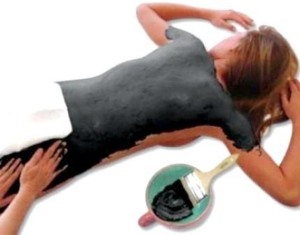 Обгортання антицелюлітне для тіла з брудом морської