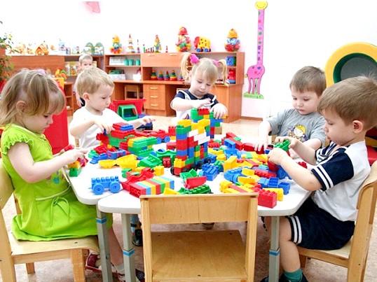 Принципи вибору меблів для дитячого садка