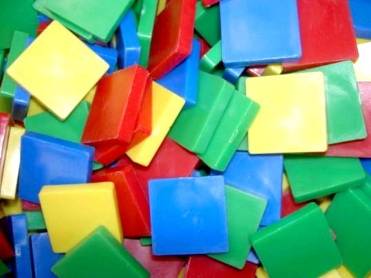 Розвиваючі ігри: геометрична мозаїка