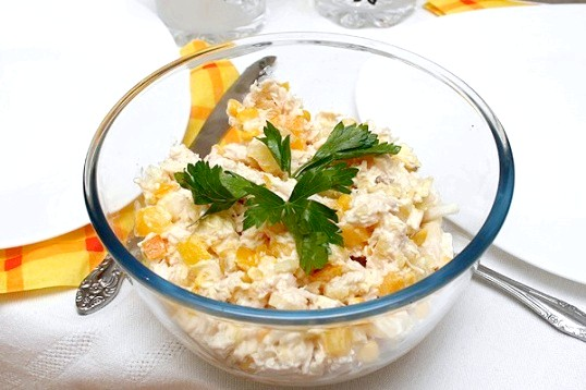 Рецепти гострих салатів