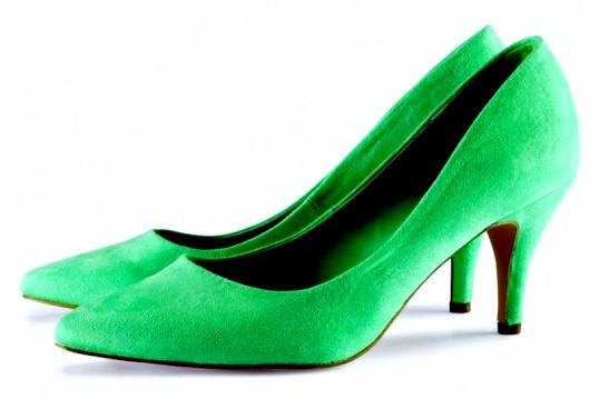 З чим носити зелені туфлі