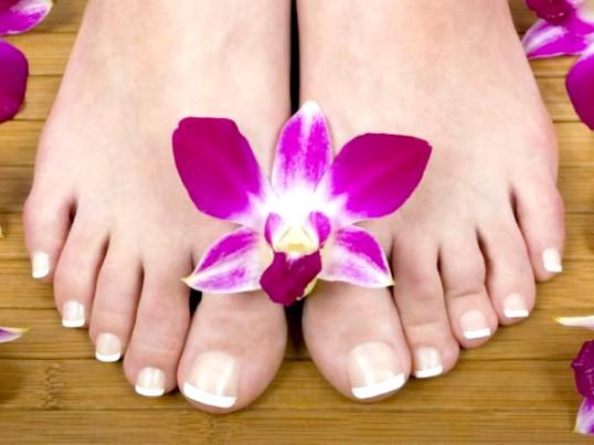 Оцтові ванночки для ніг