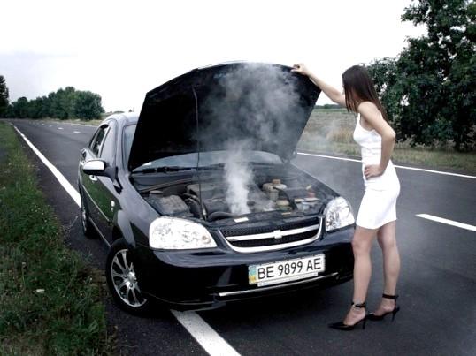 Що робити, якщо автомобіль почав перегріватися?
