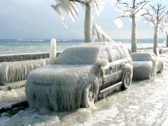 Що робити, якщо замерзла машина