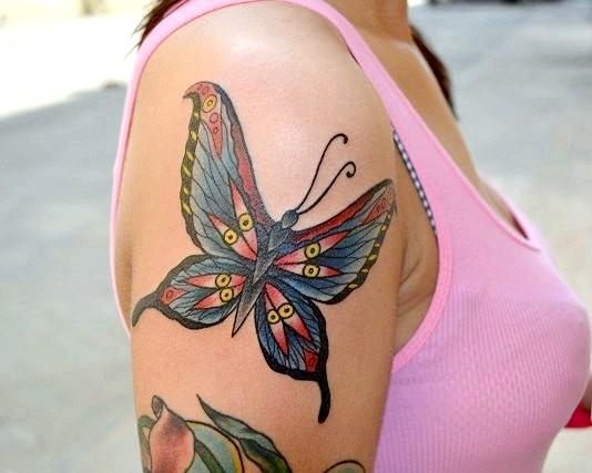 Що означає татуювання метелик