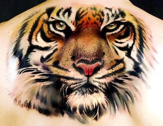 Що означає татуювання у вигляді тигра