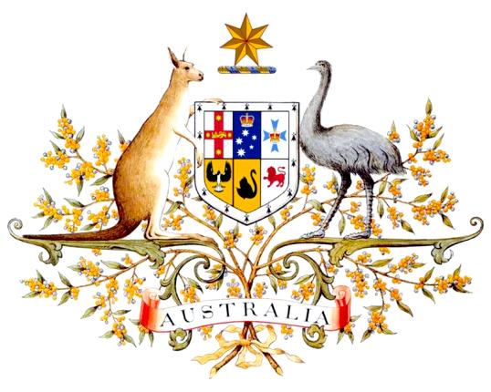 Що символізує герб Австралії