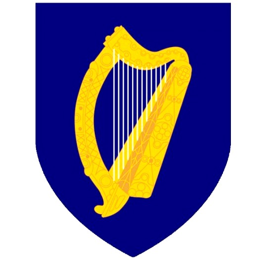 Що символізує герб Ірландії