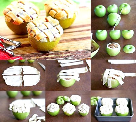 Яблука в духовці