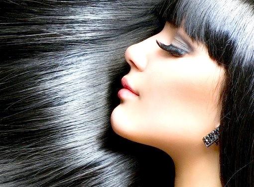 Ефект ламінування волосся