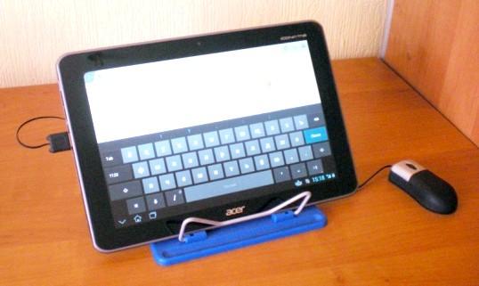 Редагування файлу Word на планшеті з Android