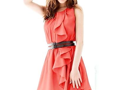 З чим носити довге плаття