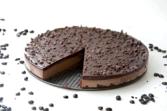 Шоколадний торт «Мокко» без випікання