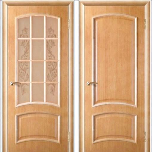 Шпонированная двері: нюанси вибору