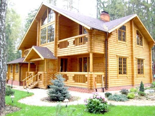 Сучасні проекти дерев'яних будинків