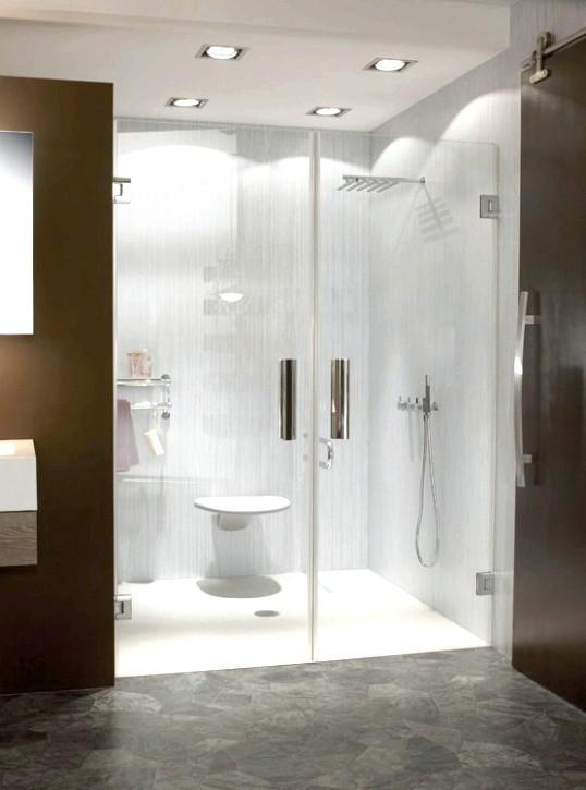 Скляна душова кабіна: пристрій, матеріали і деталі