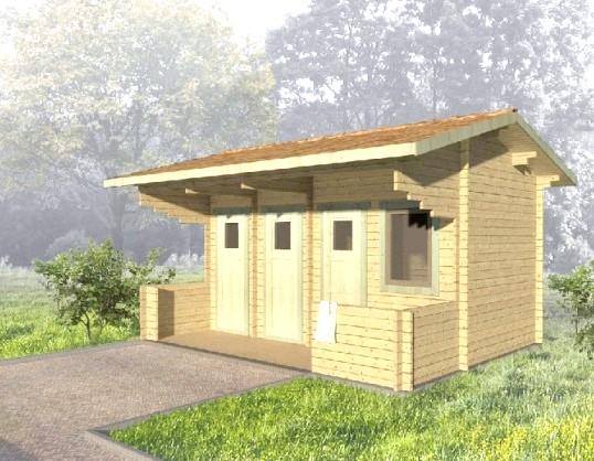 Будівництво туалету і хозблока: разом чи окремо?