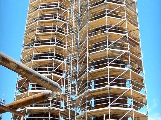 Типи і конструкції будівельних лісів