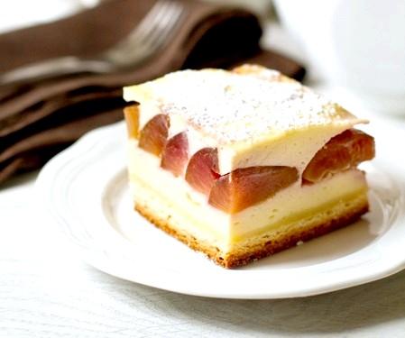 Тюрингский пиріг зі сливами
