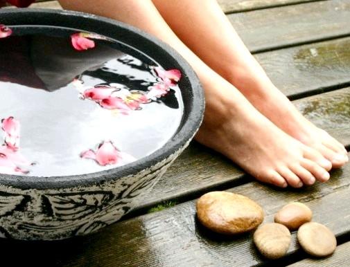 Тонізуючі ванночки для ніг