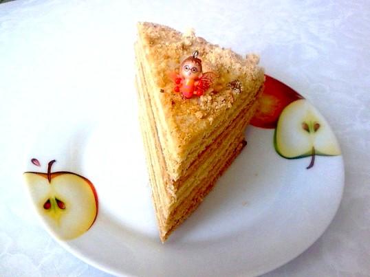 Торт медовик домашній